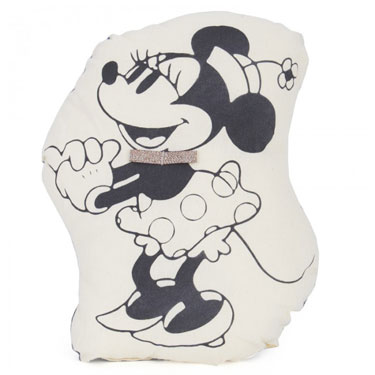 Mickey Mouse and Minnie Mouse cushions by Atsuyo Et Akiko