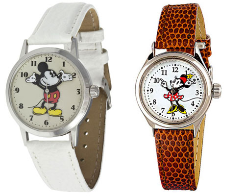 Mickey Mouse watch range by Ingersoll