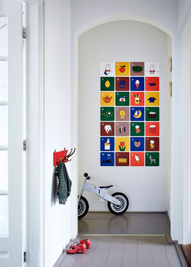 Miffy wall art tiles by IXXI