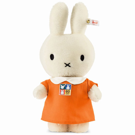 Limited edition 60th anniversary Miffy by Steiff