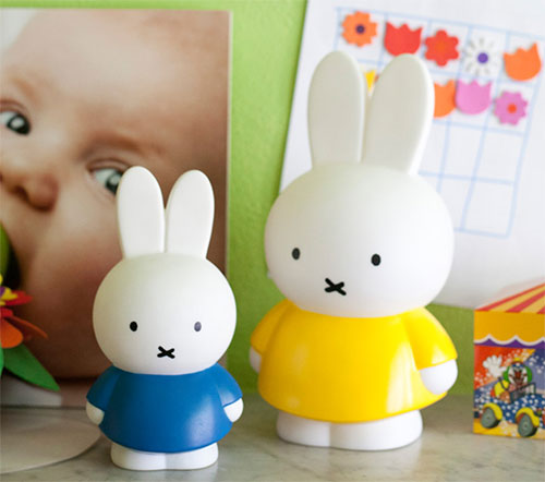 Miffy money boxes at Retro Kids