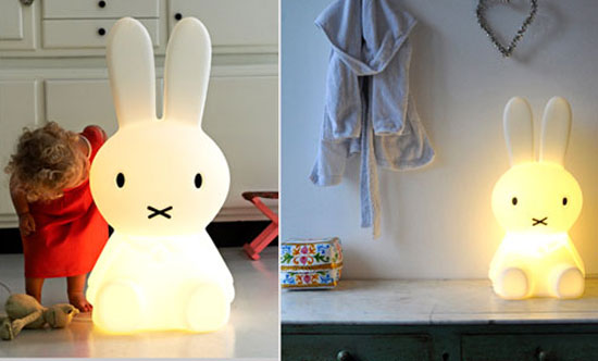 Miffy Lamp In Small Or Large Sizes Junior Hipster
