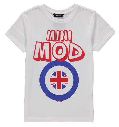 Mod t-shirts for kids by Jaymo Kid