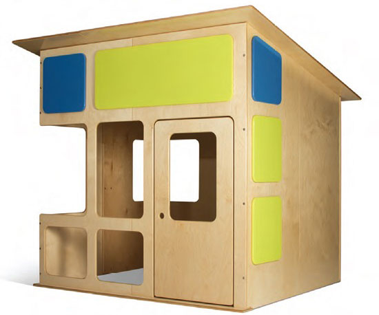 TrueModern modernist playhouse by Edgar Blazona