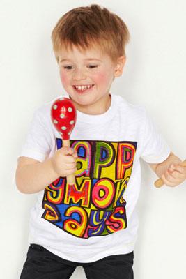 Happy Mondays t-shirt at Next