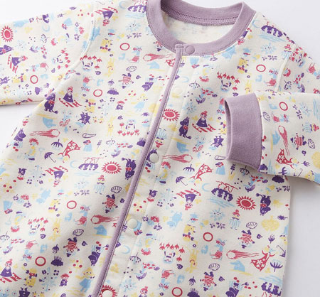 Moomins romper suits at Uniqlo