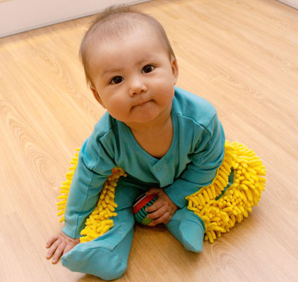 Baby Mop - clean as you play