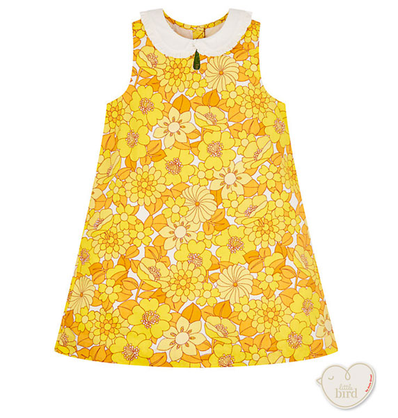 1960s-style floral dress by Little Bird at Mothercare