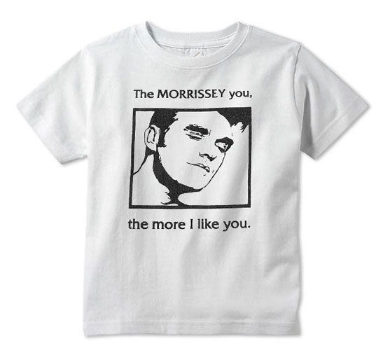 The Morrissey You t-shirt for kids at Baby Teith