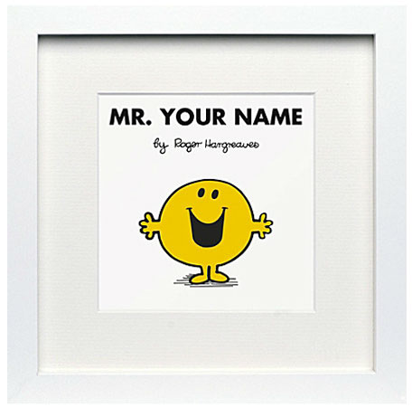 Personalised Mr Men and Little Miss prints by At You Grew Up With