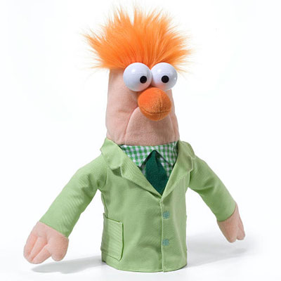 Exclusive Muppets puppets at FAO Schwarz