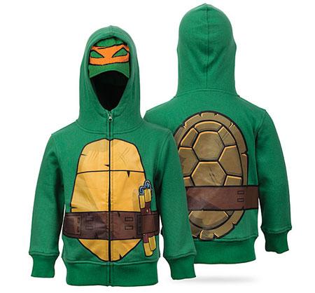 Teenage Mutant Ninja Turtle hoodie for kids