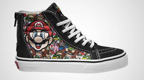 Coming soon: Nintendo x Vans footwear range