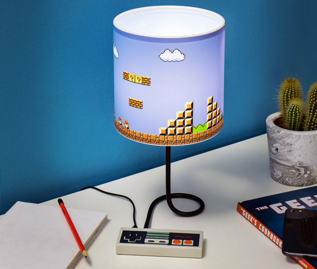 Back to the 80s with the Nintendo NES Lamp