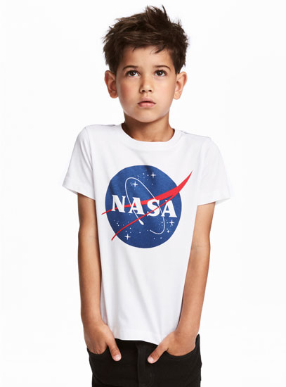 NASA t-shirt for kids at H&M
