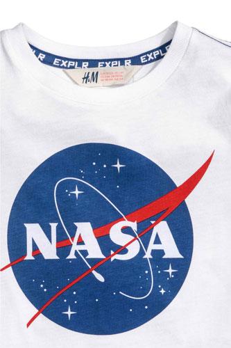NASA t-shirt for kids at H&M
