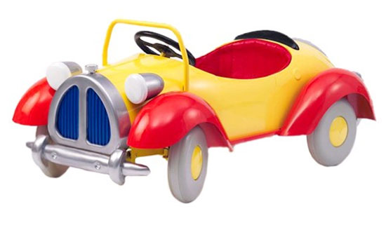 Officially licensed Noddy pedal car for kids