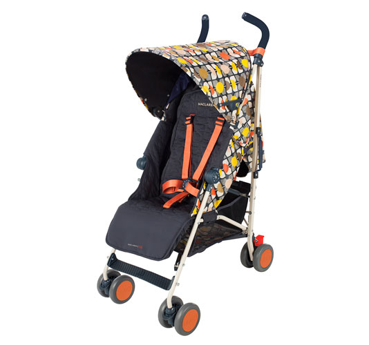 Stylish stroller: Orla Kiely for Maclaren Buggy