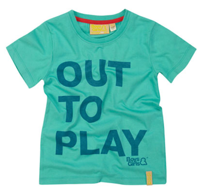 Out To Play t-shirts by Boys & Girls
