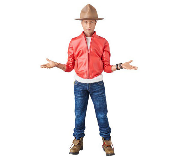 Modern-day Action Man: Pharrell Williams action figure by Medicom