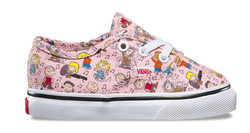 Vans x Peanuts Collection for kids 2017