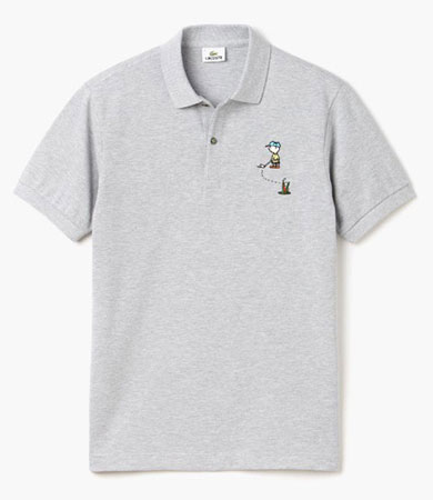 Peanuts x Lacoste clothing collection for kids