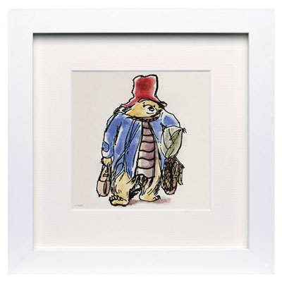 Paddington Bear fine art prints at Achica