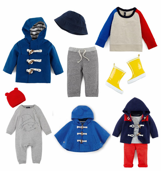 Paddington Bear range for Baby Gap