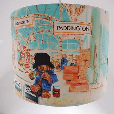 Handmade Paddington Bear lampshade by The Shabby Shade