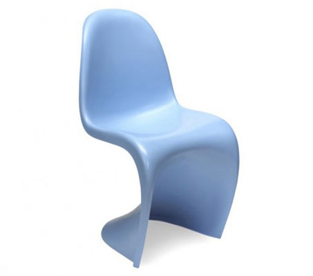 Verner Panton-style chair for kids