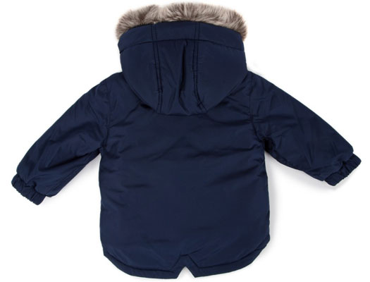 Paul Smith Junior baby boy's fishtail parka