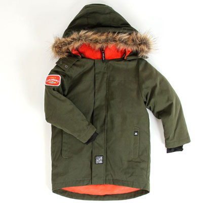 Classic Parka for kids by Ugly Clothing
