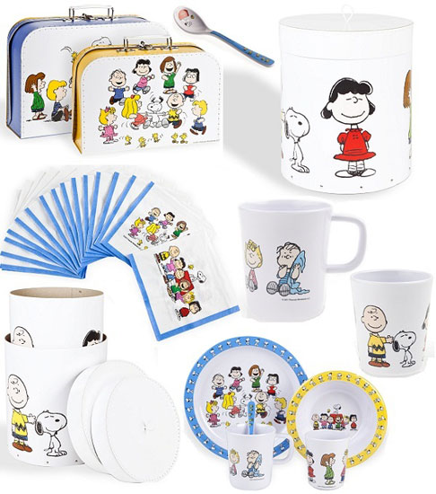 Spotted: Peanuts homeware range for kids at Zara Home