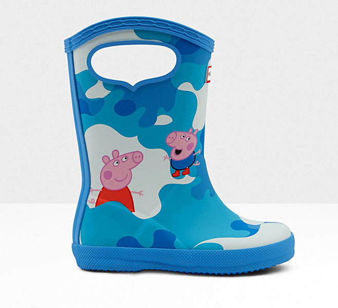 Hunter limited edition Peppa Pig wellingtons