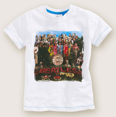 The Beatles Sgt. Pepper t-shirt at Next