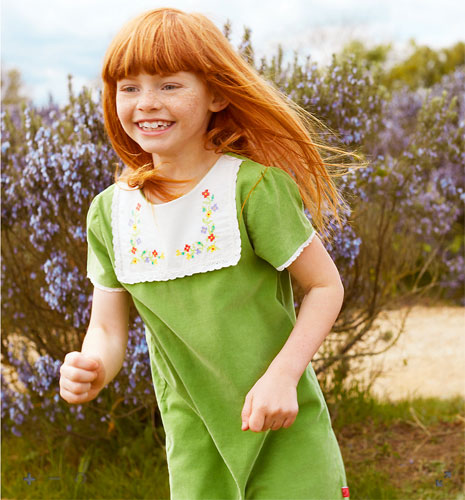 Little Bird by Jools 1960s-style pinny dress