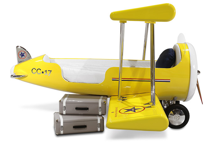 The Sky B Plane bed for kids by Circu