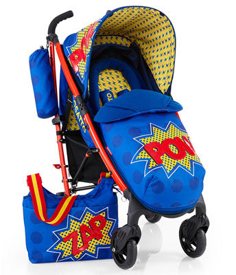 Pop art-style Yo! Pow Pushchair by Cosatto