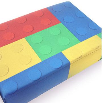 Lego pouf by Dogo