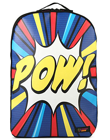 Pop art-style Pow backpack by Urban Junk