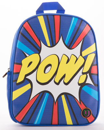 Mini Pow pop art backpack by Urban Junk