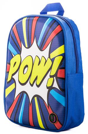 Mini Pow pop art backpack by Urban Junk