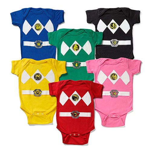 I Am A Power Ranger bodysuits