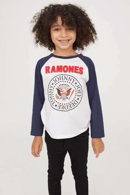Ramones long-sleeved top at H&M