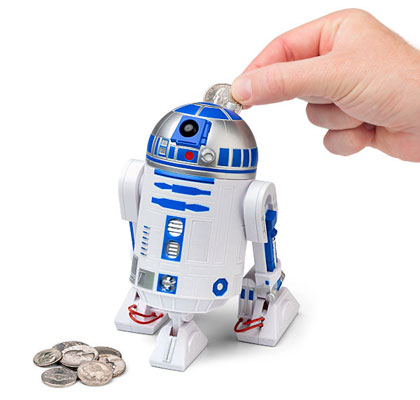 Star Wars R2-D2 Talking Bank