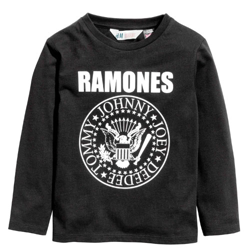 Ramones long-sleeve t-shirt for kids at H&M