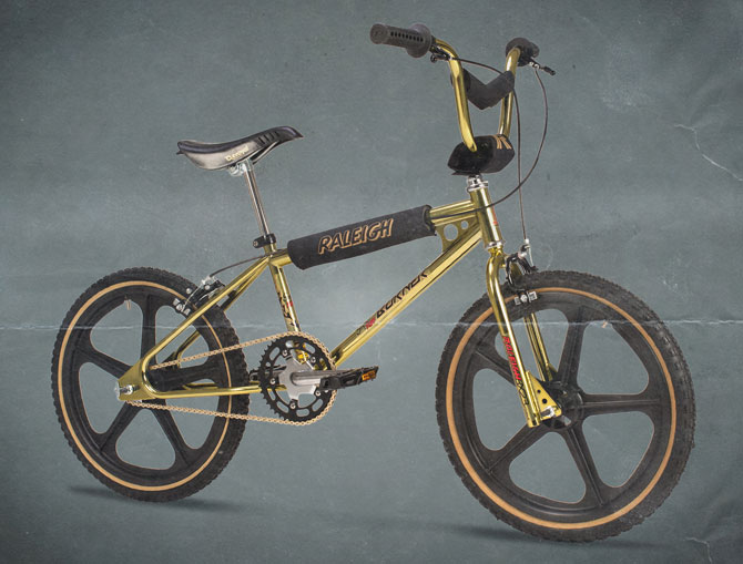 1980s MK1 Raleigh Super Tuff Burner returns