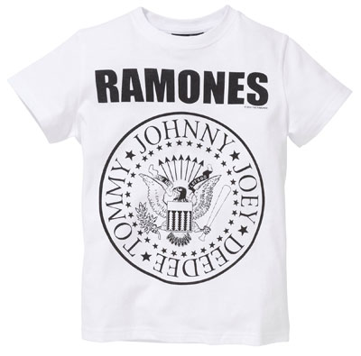 Classic Ramones t-shirt for kids at Next