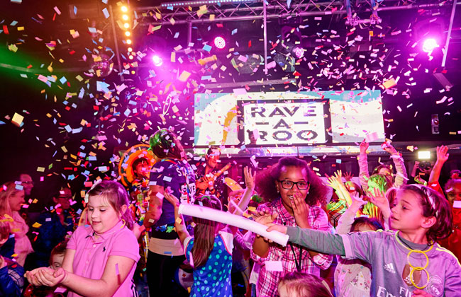 Selfridges X Rave-A-Roo in Manchester