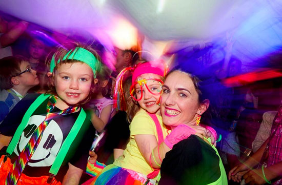 Rave-A-Roo - raves for kids return to Ministry of Sound